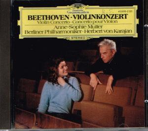 Beethoven Anne-Sophie Mutter Berliner Philharmoniker Herbert von Karajan – Violinkonzert EAN 028941381828