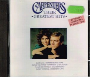 Carpenters ‎– Their Greatest Hits EAN 082839704823