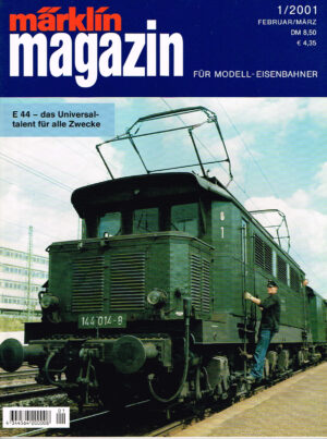 MÄRKLIN Magazin - für Modell-Eisenbahner 01-2001 4344564 200008 01