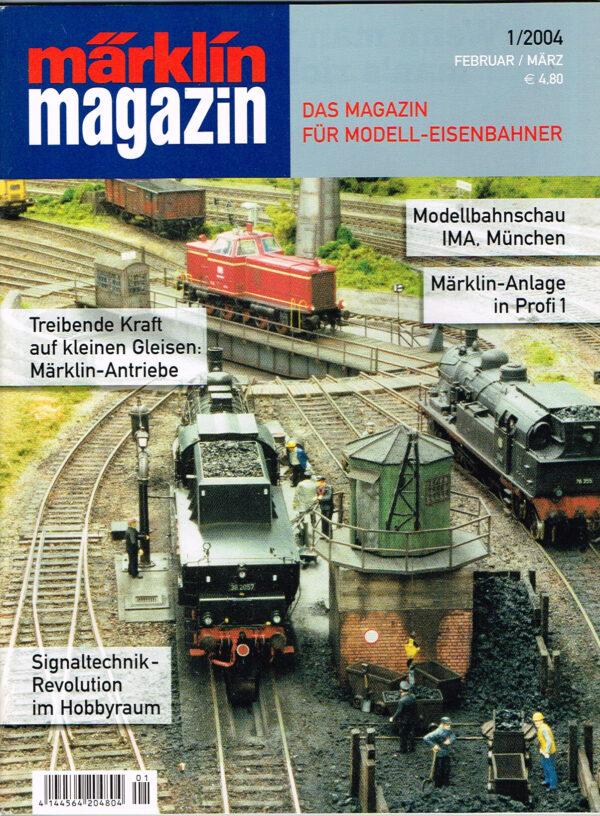 MÄRKLIN Magazin - für Modell-Eisenbahner 01-2004 4144564 204804 01
