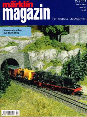 MÄRKLIN Magazin - für Modell-Eisenbahner 02-2001 4344564 200008 02