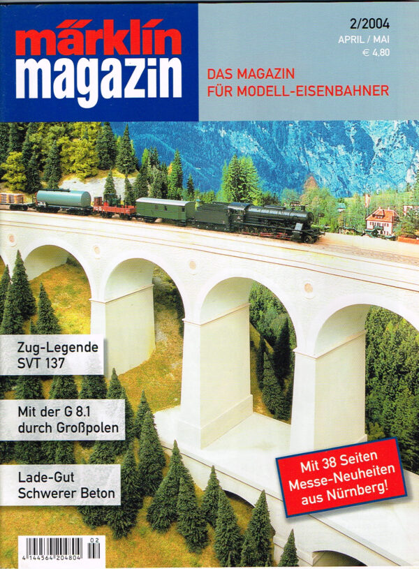 MÄRKLIN Magazin - für Modell-Eisenbahner 02-2004 4144564 204804 02