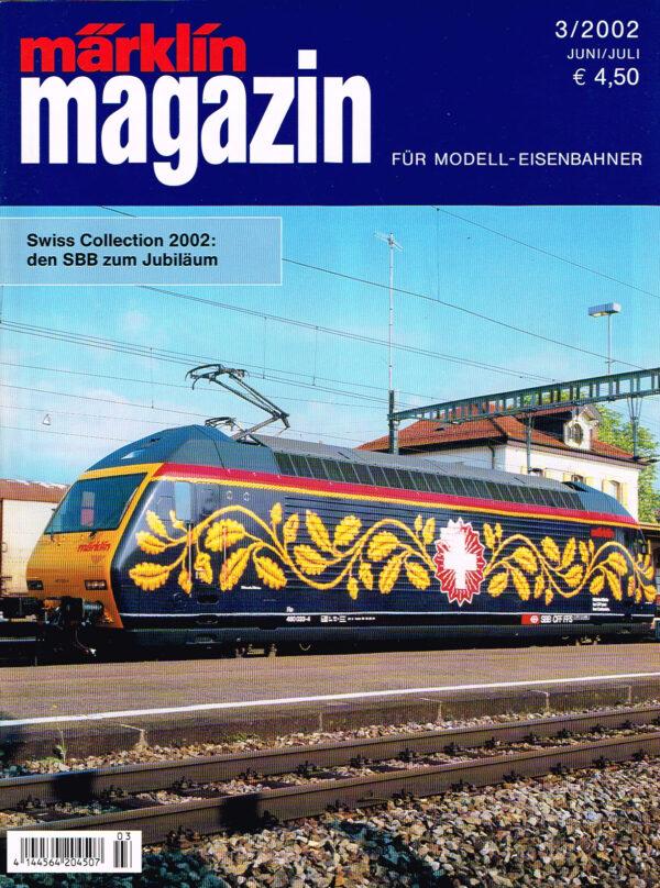 MÄRKLIN Magazin - für Modell-Eisenbahner 03-2002 4144564 204507 03