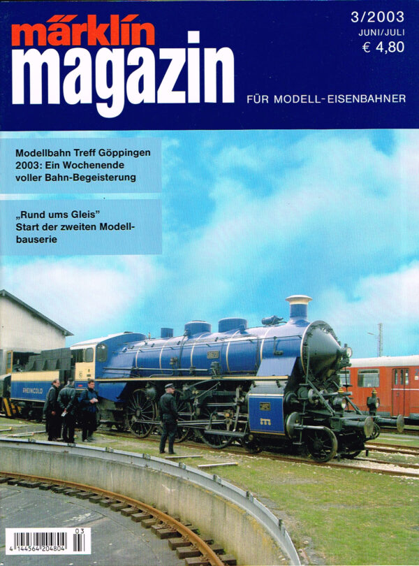 MÄRKLIN Magazin - für Modell-Eisenbahner 03-2003 4144564 204804 03