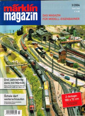 MÄRKLIN Magazin - für Modell-Eisenbahner 03-2004 4144564 204804 03