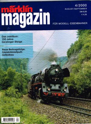 MÄRKLIN Magazin - für Modell-Eisenbahner 04-2000 4344564 200008 04