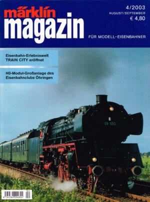 MÄRKLIN Magazin - für Modell-Eisenbahner 04-2003 4144564 204804 04