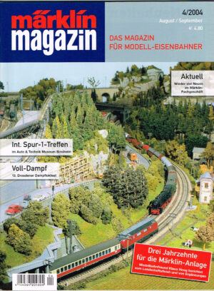 MÄRKLIN Magazin - für Modell-Eisenbahner 04-2004 4144564 204804 04