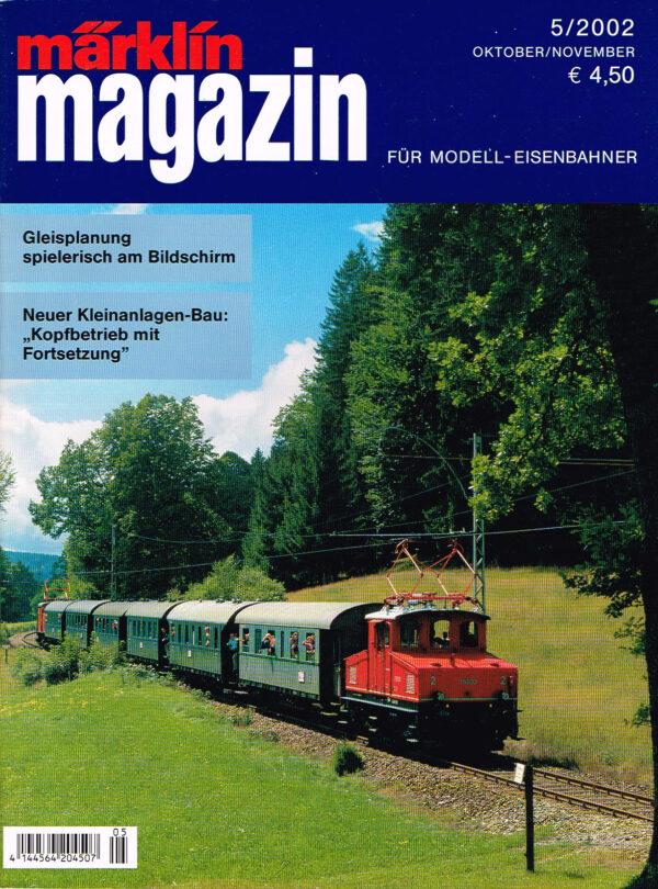 MÄRKLIN Magazin - für Modell-Eisenbahner 05-2002 4144564 204507 05