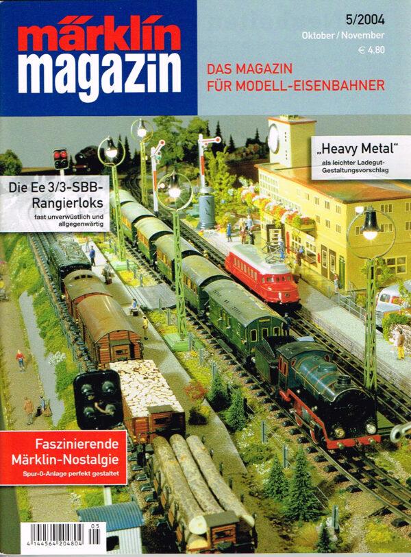 MÄRKLIN Magazin - für Modell-Eisenbahner 05-2004 4144564 204804 05
