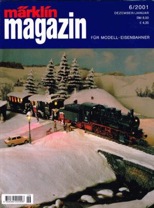 MÄRKLIN Magazin - für Modell-Eisenbahner 06-2001 4344564 200008 06