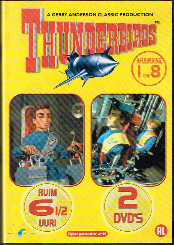 Thunderbirds aflevering 1 t/m 8 2 DVD EAN 8711983472150