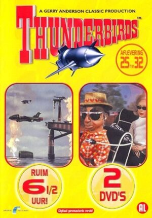 Thunderbirds aflevering 25 t/m 32 2 DVD EAN 8711983472181