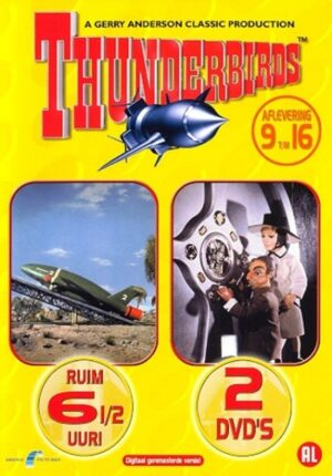 Thunderbirds aflevering 9 t/m 16 2 DVD EAN 8711983472167