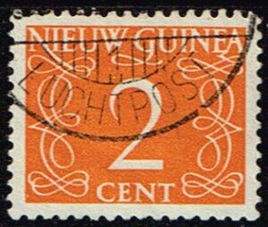 Nederlands Nieuw Guinea 1950 cijfer 2 cent gestempeld NVPH 2