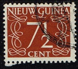 Nederlands Nieuw Guinea 1950 cijfer 7.5 cent gestempeld NVPH 7