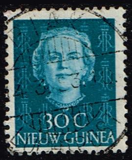 Nederlands Nieuw Guinea 1952 Koningin Juliana 30 cent gestempeld NVPH 13