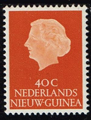Nederlands Nieuw Guinea 1960 Koningin Juliana 40 cent NVPH 32