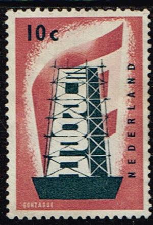 Europazegels Nederland 1956 Europa 10 cent NVPH 681