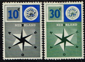 Europazegels Nederland 1957 Europa NVPH 700-701