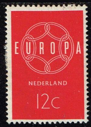 Europazegels Nederland 1959 Europa 12 cent NVPH 727