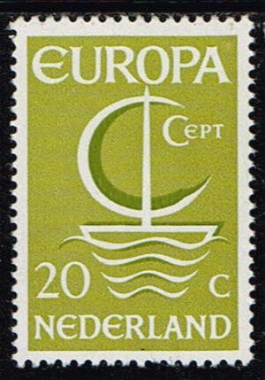Europazegels Nederland1966 Europa Michel Nummer 864