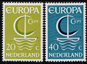 Europazegels Nederland1966 Europa Michel Nummer 864-865