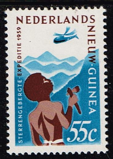 Nederlands Nieuw Guinea 1959 Expeditie Sterrengebergte NVPH 53