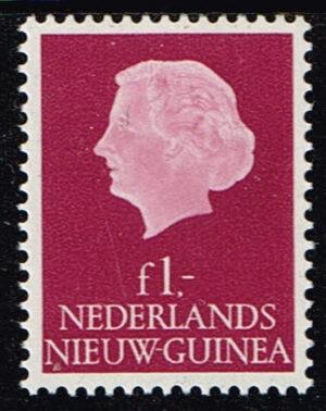 Nederlands Nieuw Guinea 1959 Koningin Juliana 1 gld NVPH 35