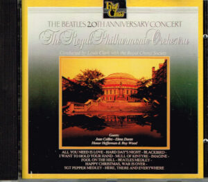 The Royal Philharmonic Orchestra – Plays The Beatles 20th Anniversary Concert CNR 100012