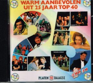 Various – Warm Aanbevolen Uit 25 Jaar Top 40 CPG 1989006