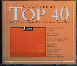 Varius - Classical Top 40 Most Popular Classical EAN 5028421993010