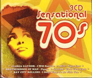 Varius Sensational 70's 3 CD EAN 8717423030072 KBOX3509