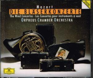 Wolfgang Amadeus Mozart, Orpheus Chamber Orchestra – Die Bläserkonzerte EAN 028943166522