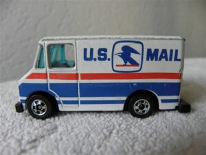 Hot Wheels U.S. Mail Truck