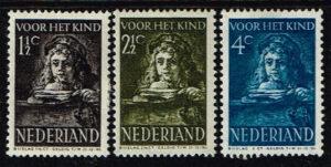 Nederland 1941 Kinderzegels NVPH 397-398-399