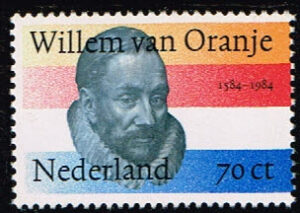 Nederland 1984 400e sterfdag Willem van Oranje NVPH 1312