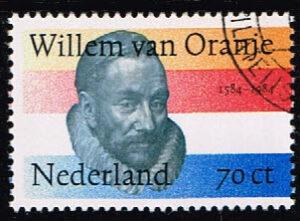Nederland 1984 400e sterfdag Willem van Oranje NVPH 1312 gestempeld