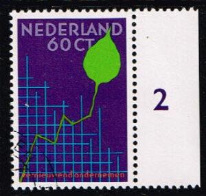 Nederland 1984 Businesscongres NVPH 1315 gestempeld