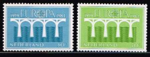 Nederland 1984 Europa, 25 jaar CEPT NVPH 1307-1308