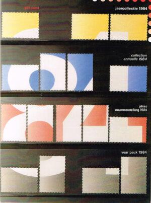 Nederland 1984 boekje Jaarcollectie 1984 Nederlandse Postzegels.
