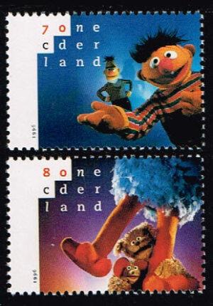 Nederland 1996 20 jaar Sesamstraat NVPH 1692-1693