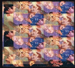 Nederland 1996 Decemberpost NVPH V1702-1705