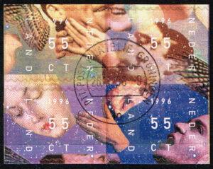 Nederland 1996 Decemberzegels NVPH 1702-1705 gestempeld