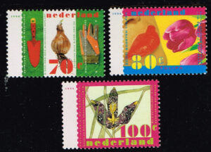 Nederland 1996 Natuur en Milieu NVPH 1668-1670