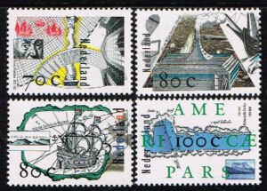 Nederland 1996 Ontdekkingsreizen NVPH 1694-1697