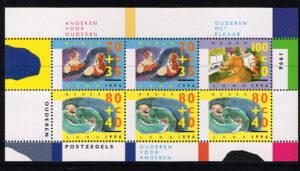 Nederland 1996 Zomerzegel blok NVPH 1676