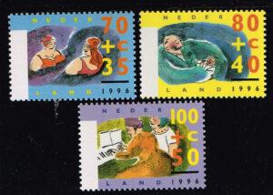 Nederland 1996 Zomerzegels NVPH 1673-1675