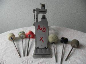Drumpedaal Axis X met 6 gebruikte kloppers