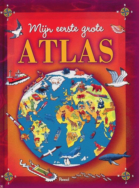 Mijn Eerste Grote Atlas Brimax EAN 9789058889041